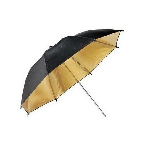 33'' 84cm Gold Reflective Lighting Umbrella