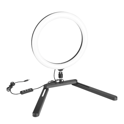 "12"" LED usb ring light kit"