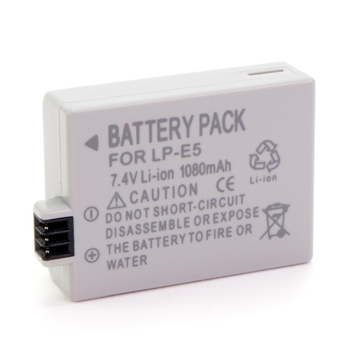 LP-E5 Camera Battery (7.4v 1080mAh)
