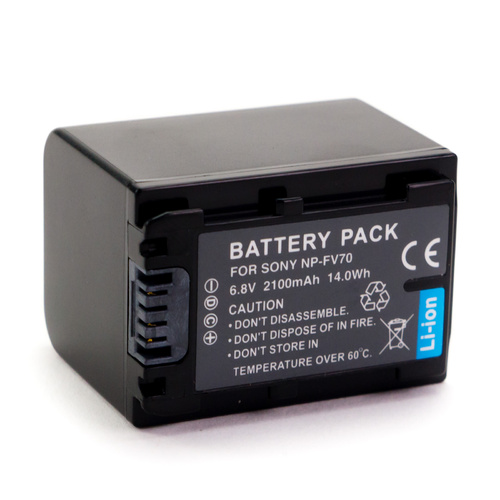 NP-FV70 NPFV70 Camera Battery (6.8v 2100mAh )